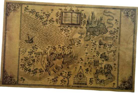 Harry Potter Magic World Map